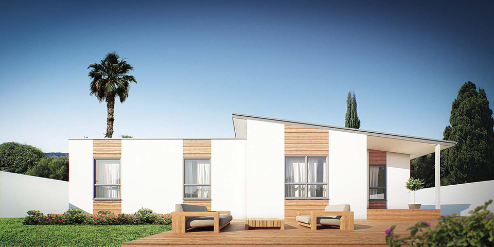 haven modular home design render